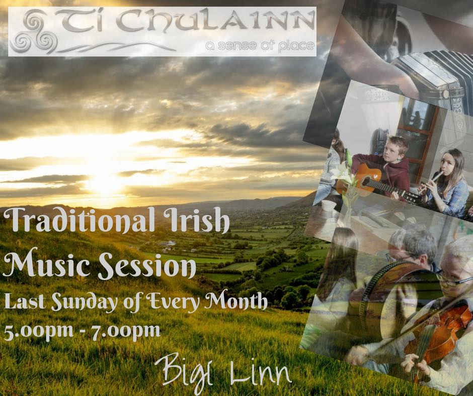 Monthly Traditional Irish Music Session